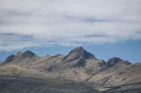 Vue sur le Pasochoa depuis Rumipamba - Equateur -