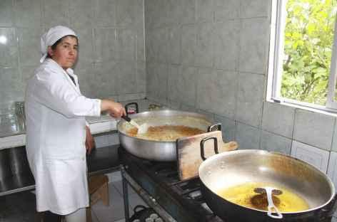 Fabrication de confiture à Yunguilla - Equateur -