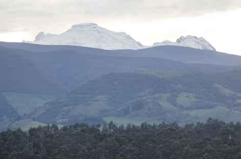 Vue sur l'Antisana depuis Rumipamba - Equateur -