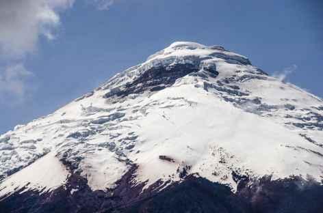 Vue sur le Cotopaxi depuis le Ruminahui - Equateur -