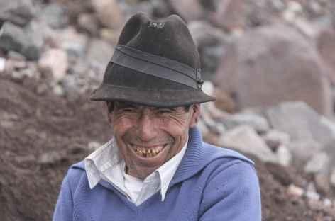 Le beau sourire de Baltazar Ushca - Equateur -