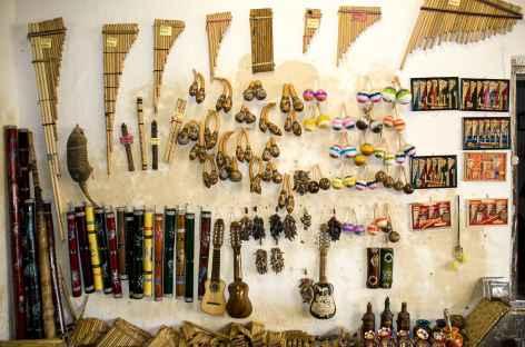 Un atelier de musique à Peguche - Equateur -