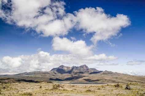 Vue sur le Ruminahui - Equateur -