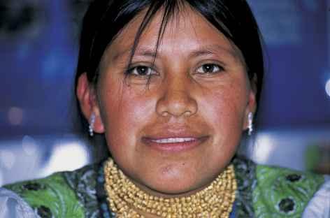 Une femme d'Otavalo - Equateur -