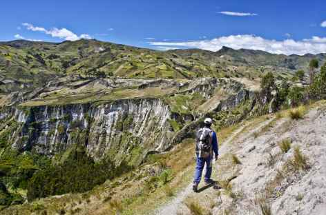 Trek entre Quilotoa et Tigua - Equateur -