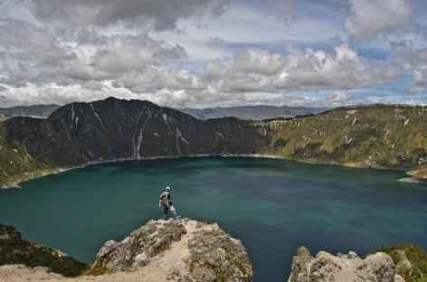 La lagune de Quilotoa - Equateur -