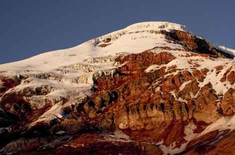 Coucher de soleil sur le Chimborazo - Equateur -