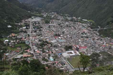Panorama sur Baños - Equateur -