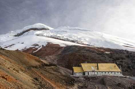 Le Cotopaxi et son refuge - Equateur -