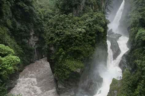 Cascade à Baños - Equateur -