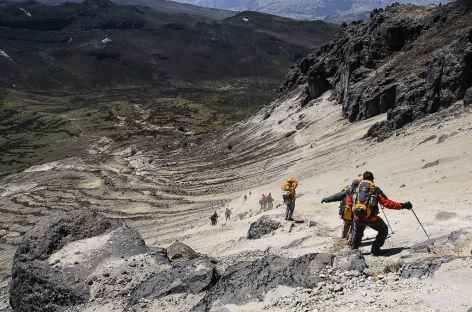 Descente du Rucu Pichincha - Equateur -