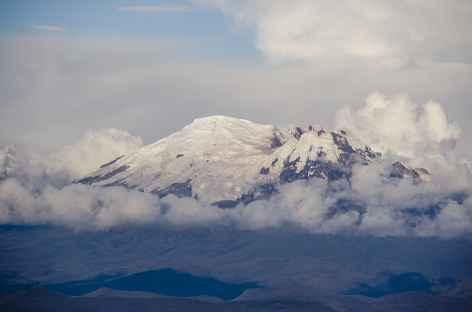 L'Antisana depuis le refuge du Cotopaxi -