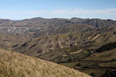 Au cours du trek vers Tigua - Equateur -