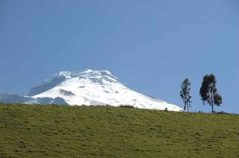 En chemin vers le refuge du Cayambe - Equateur -