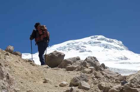 Montée vers le glacier du Cayambe - Equateur -