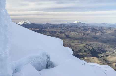 Au cours de l'ascension du Cayambe - Equateur -