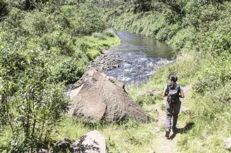 Balade sur les bords du rio Pita - Equateur -