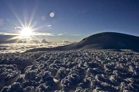Vue depuis le sommet du Chimborazo - Equateur -