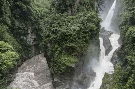 L'impressionnante cascade de Pailón del Diablo - Equateur -