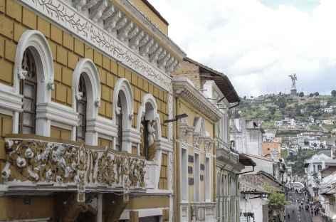 Quito, le Panecillo depuis la  -