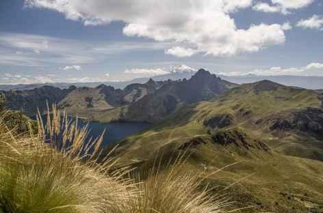 Panorama depuis le sommet du volcan Fuya Fuya - Equateur -