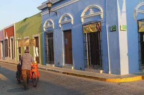 Les rues colorées de Campeche - Mexique -