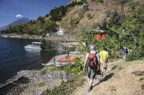 Balade au bord du lac Atitlan - Guatemala -