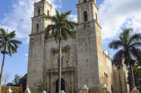 La ville coloniale de Valladoid - Mexique -