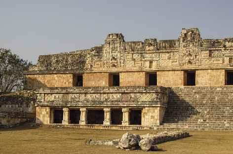 Visite du site d'Uxmal - Mexique -