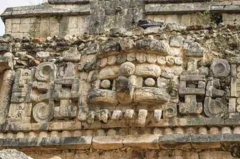 Balade sur le site Maya de Sayil - Mexique -