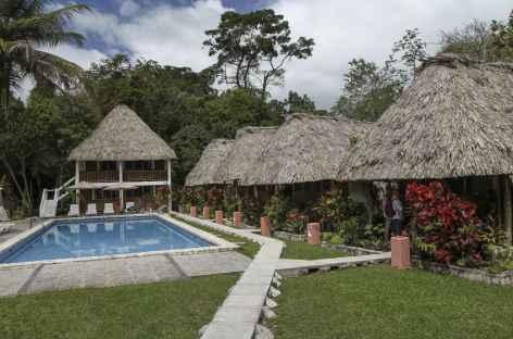 Notre lodge à Tikal - Guatemala -