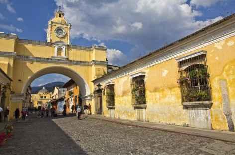 La ville coloniale d'Antigua - Guatemala -