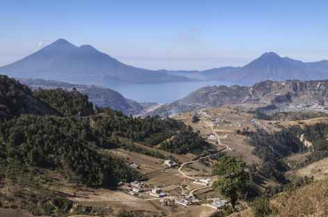 Balade au-dessus du lac Atitlan - Guatemala -