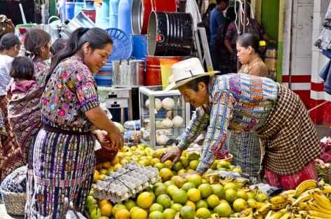 Sur le marché de Solola - Guatemala -