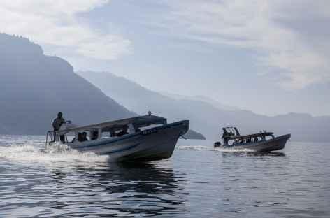 Départ pour le village de Santiago sur le lac Atitlan - Guatemala -