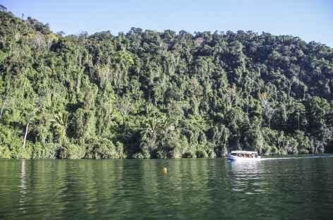 Navigation sur le rio Dulce - Guatemala -