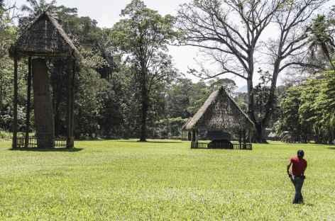 Sur le site Maya de Quirigua - Guatemala -