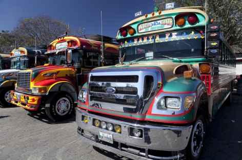 Bus locaux - Guatemala -