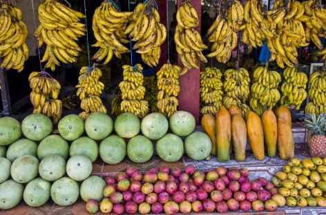 Couleurs sur un marché - Guatemala -