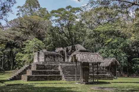 Sur le site Maya de Ceibal - Guatemala -