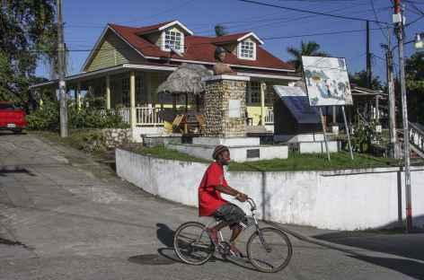 Dans les rues de Livingstone - Guatemala -