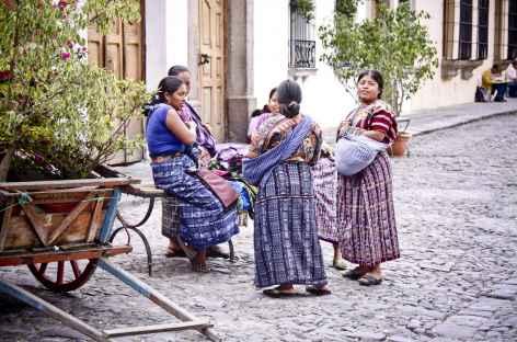 Dans les rues d'Antigua - Guatemala -