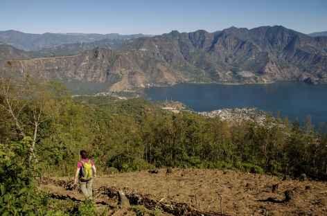 Descente du volcan San Pedro - Guatemala -