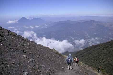 Descente du volcan Fuego - Guatemala -
