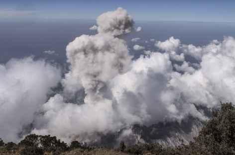 Explosion du Santiaguito - Guatemala -