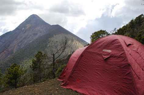 Notre bivouac au pied du volcan fuego - Guatemala -
