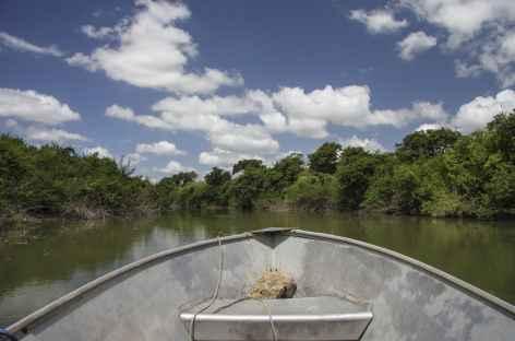 Navigation sur le rio de la Passion - Guatemala -