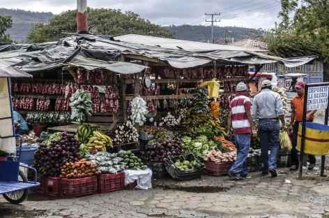 Marché en chemin - Nicaragua -
