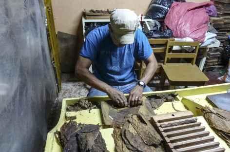 Visite d'une fabrique de cigares - Nicaragua -