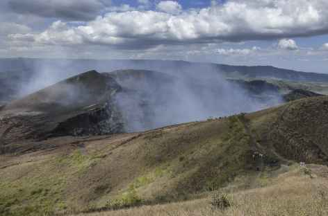 Balade au bord du cratère du volcan Masaya - Nicaragua -